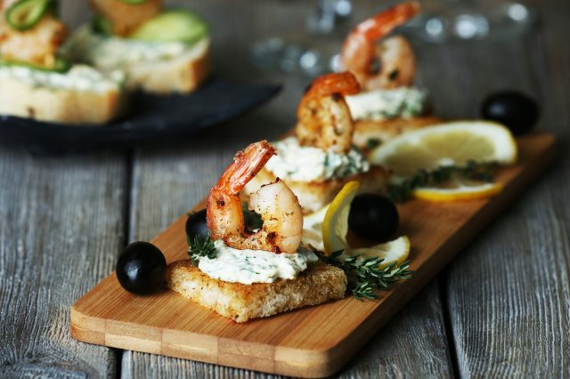 Tapas with drink – $8.30